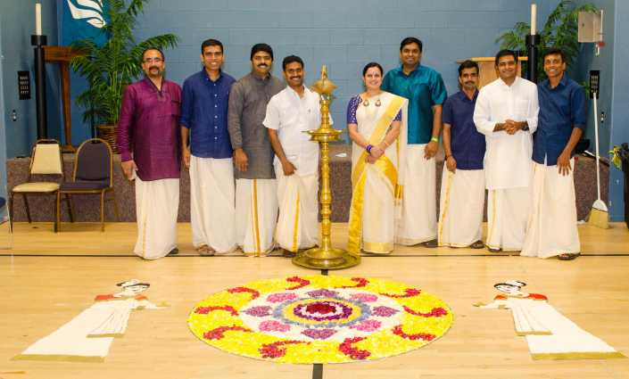 SWORAM team from Onam 2015